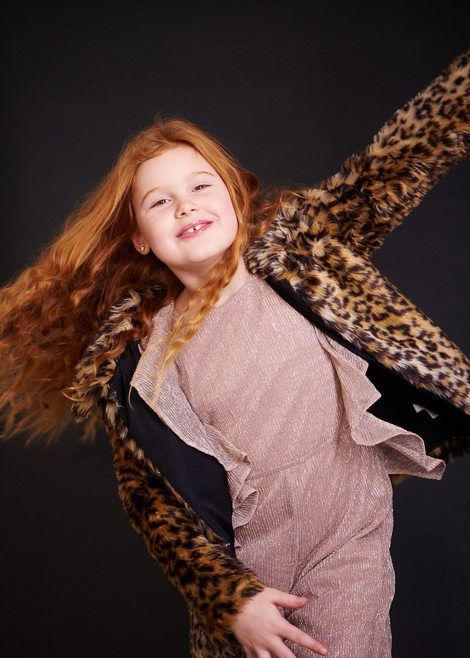 Childrens Photographer in Newcastle for model portfolios 5