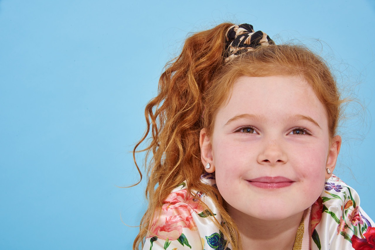 Children's Photographer in Newcastle for model portfolios 7