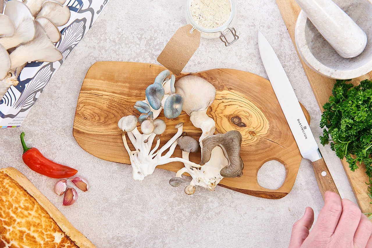 Urban Mushrooms YMCA Product Photography in Newcastle Kitchen 10