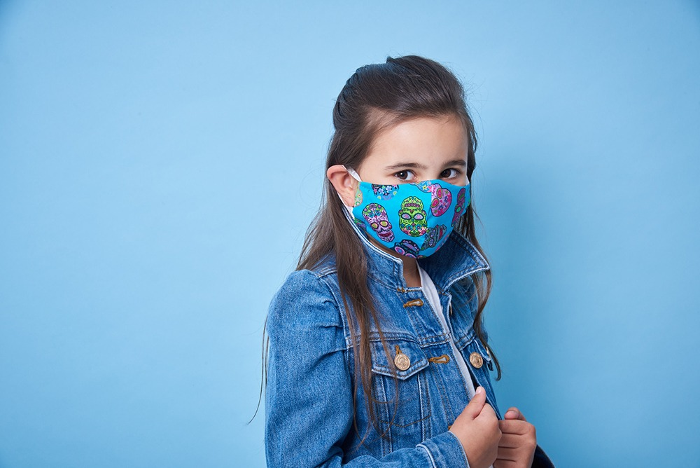 Newcastle Photography studio shootsimages of children and families for charity face masks 11