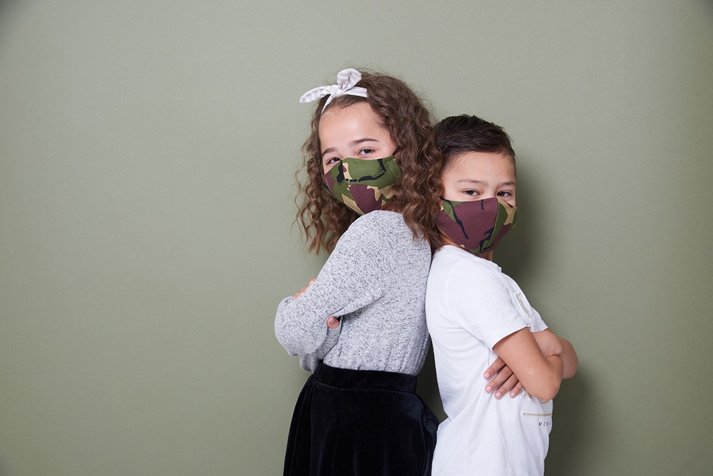 Newcastle Photography studio shootsimages of children and families for charity face masks 5