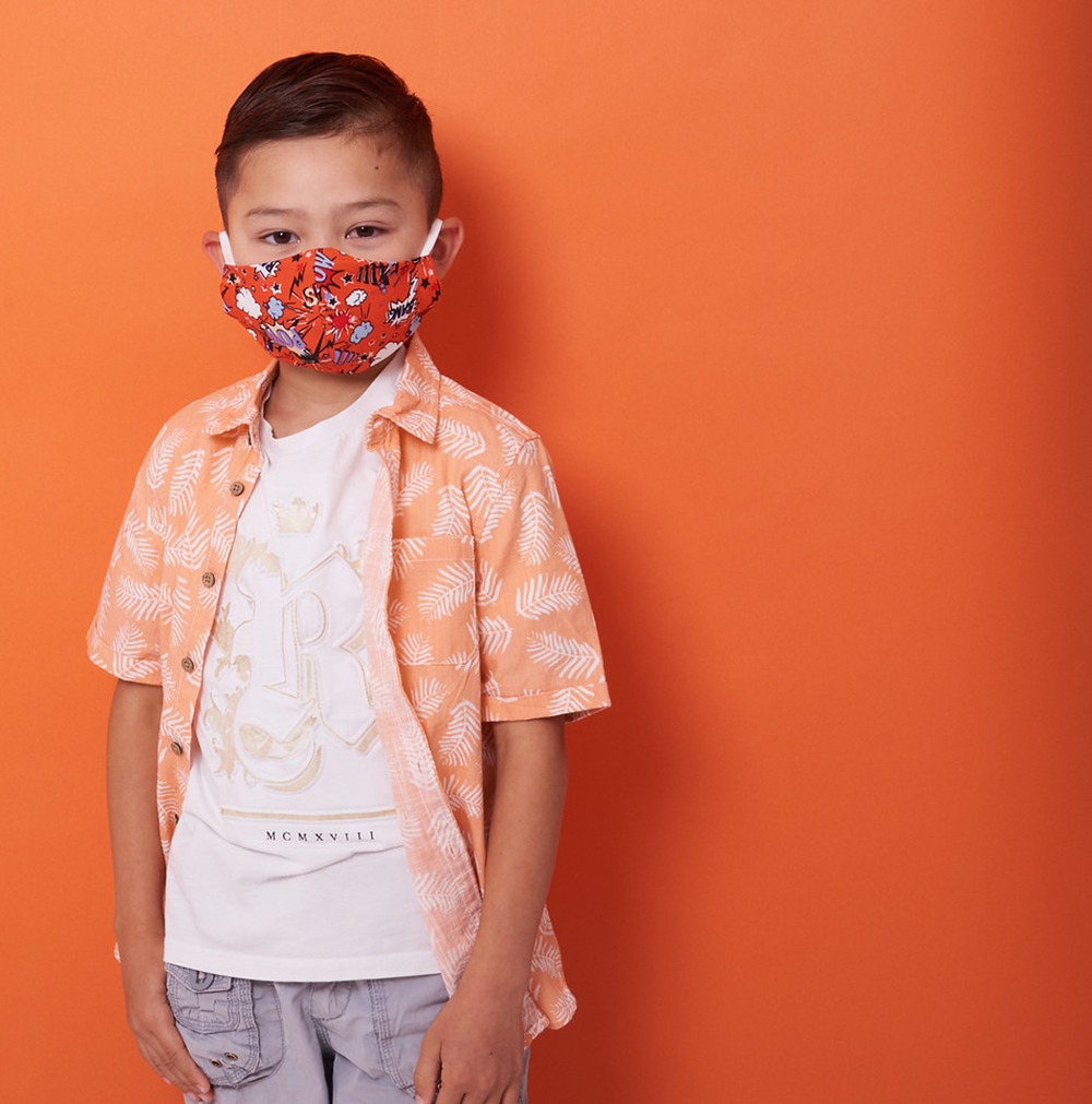 Newcastle Photography studio shootsimages of children and families for charity face masks 9