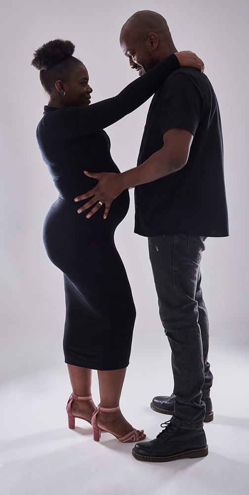 Pregnancy, Maternity and bump shoot at newcastle Photography Studio 15