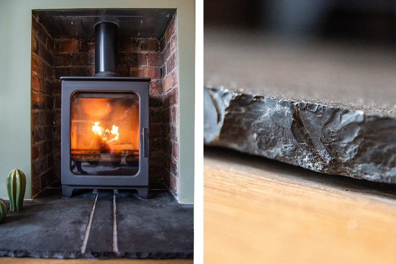 details for wood burner